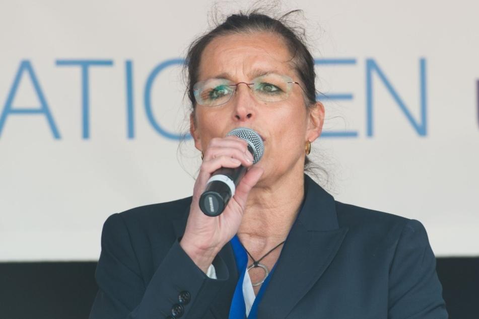 Zum zweiten Mal innerhalb weniger Tage wurden Tatjana Festerling festgenommen.