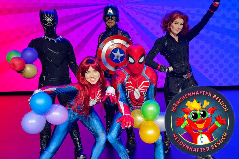 Die beliebtesten Superhelden aus Comic und Film lassen garantiert Kinderherzen höherschlagen.