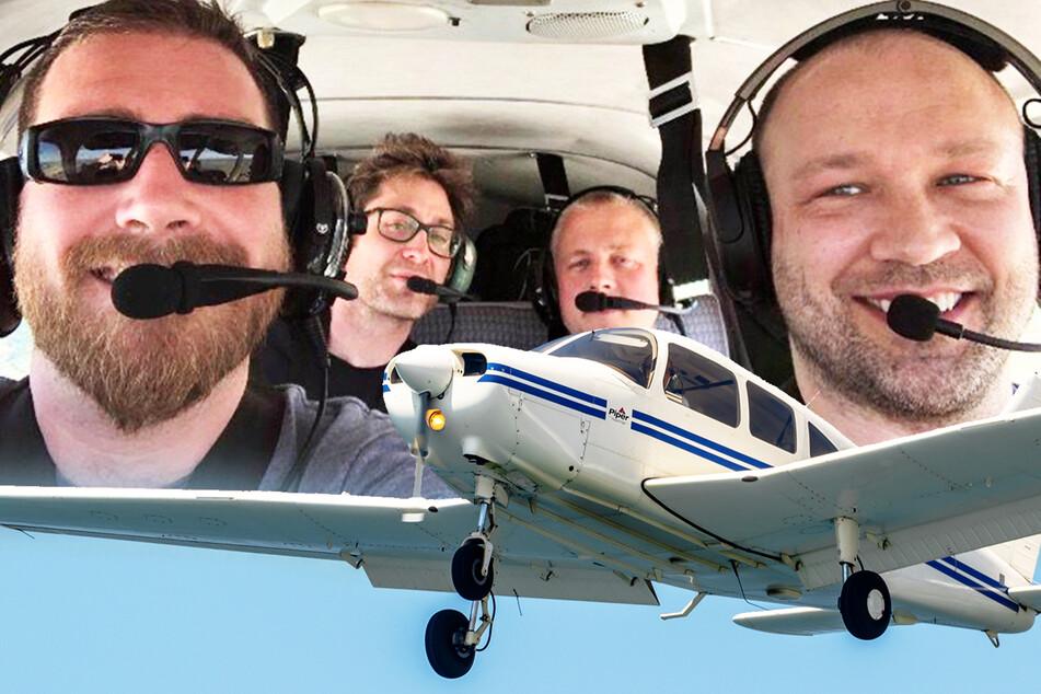 Flugzeugabsturz: Vier Männer sendeten nur Minuten zuvor Foto an Eltern