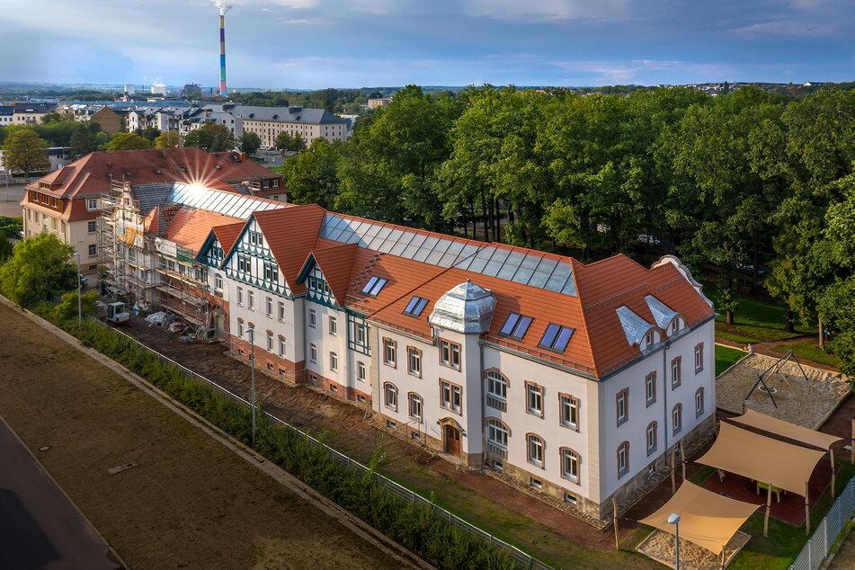 Ökostrom - dank Solarplatten der Fasa AG ein Kinderspiel auch für die Natur-Kita Esche-Stift an der Forststraße.