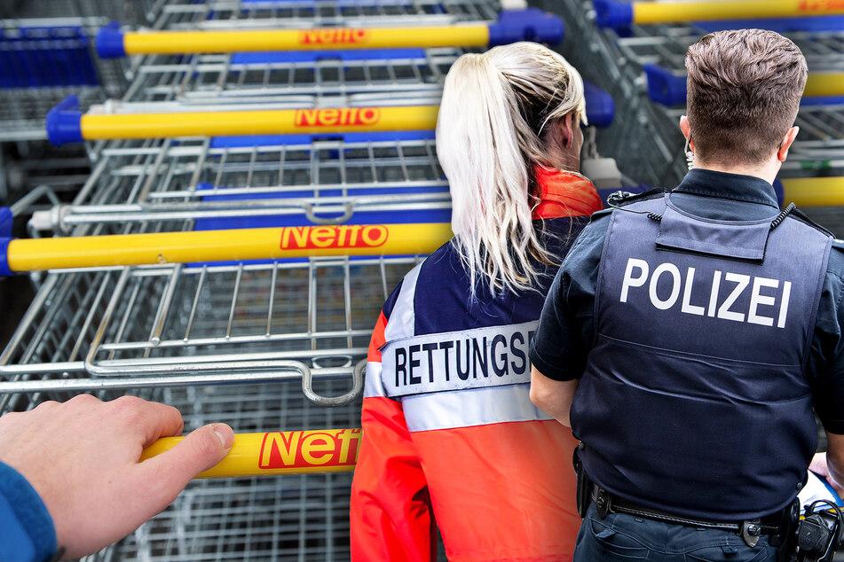Insgesamt drei Polizeibeamte wurden leicht verletzt, weil eine 15-Jährige vorm Netto-Markt auf der Rehefelder Straße ausrastete (Symbolbild).