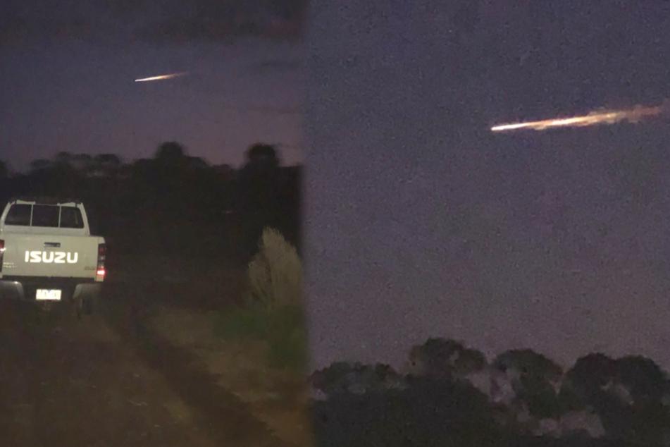 Mysteriöser Feuerball am Himmel gesichtet, doch es ist kein Meteor