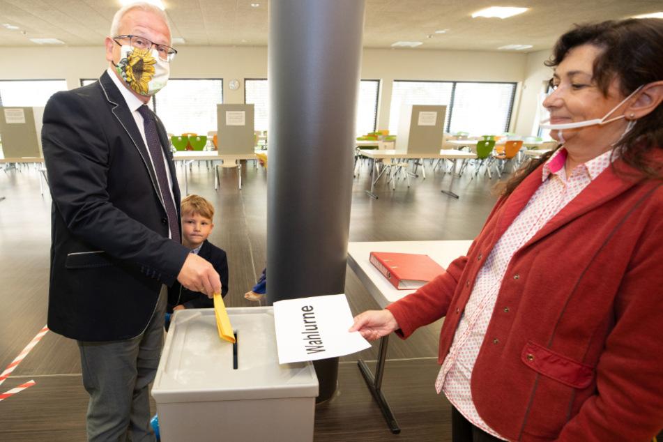 Torsten Ruban-Zeh (SPD) holte im ersten Wahlgang die meisten Stimmen.