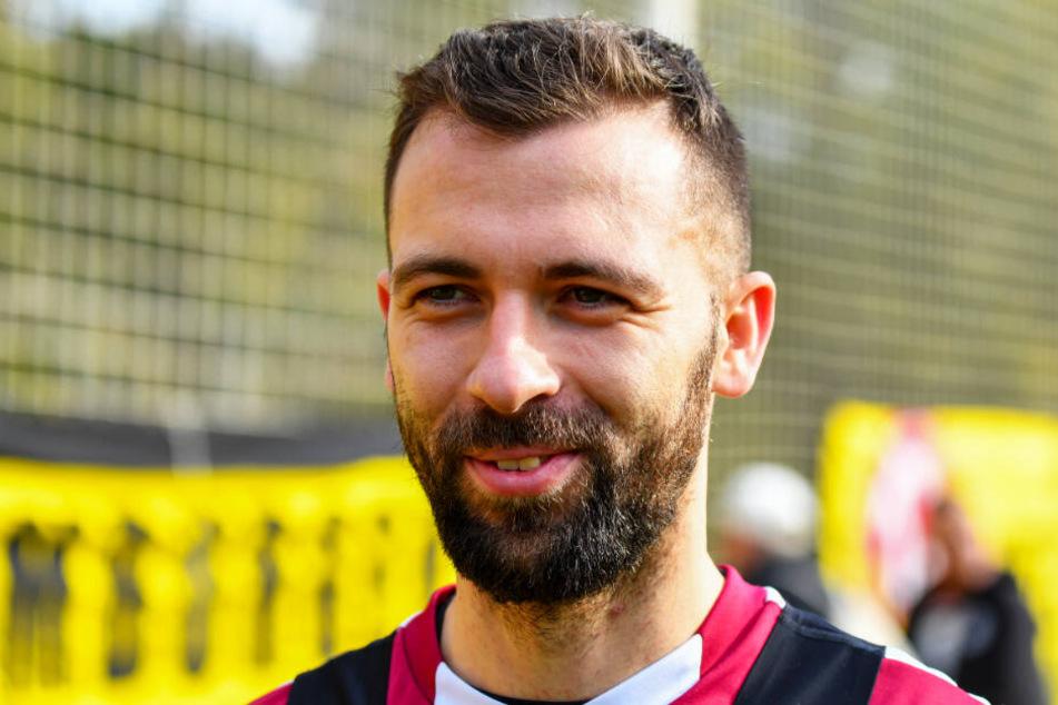 Josef Husbauer hat im zentralen Mittelfeld die Nase vorn.
