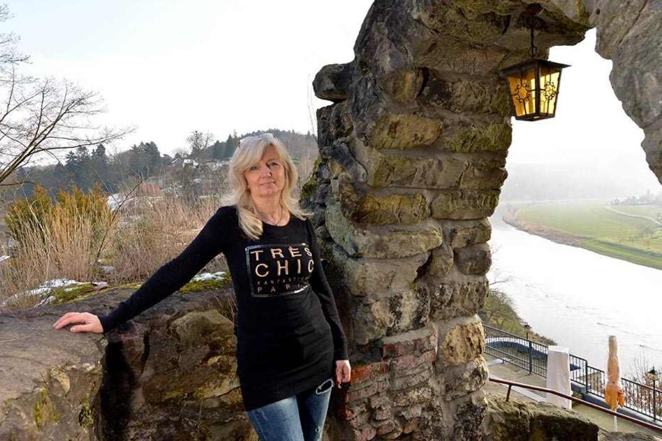 Hella Sommer (54) ist eine Vollblut-Gastronomin mit Herz. Seit 18 Jahren wirtschaftet sie erfolgreich auf der Burg.