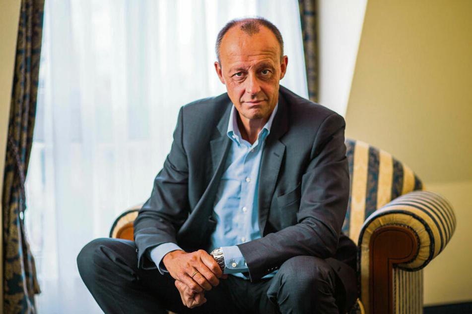 Gilt als konservativ und wirtschaftsliberal: Friedrich Merz (63). So mancher CDU-Anhänger würde den Ex-Fraktions-Chef bei der nächsten Bundestagswahl gern als Kanzlerkandidaten sehen.