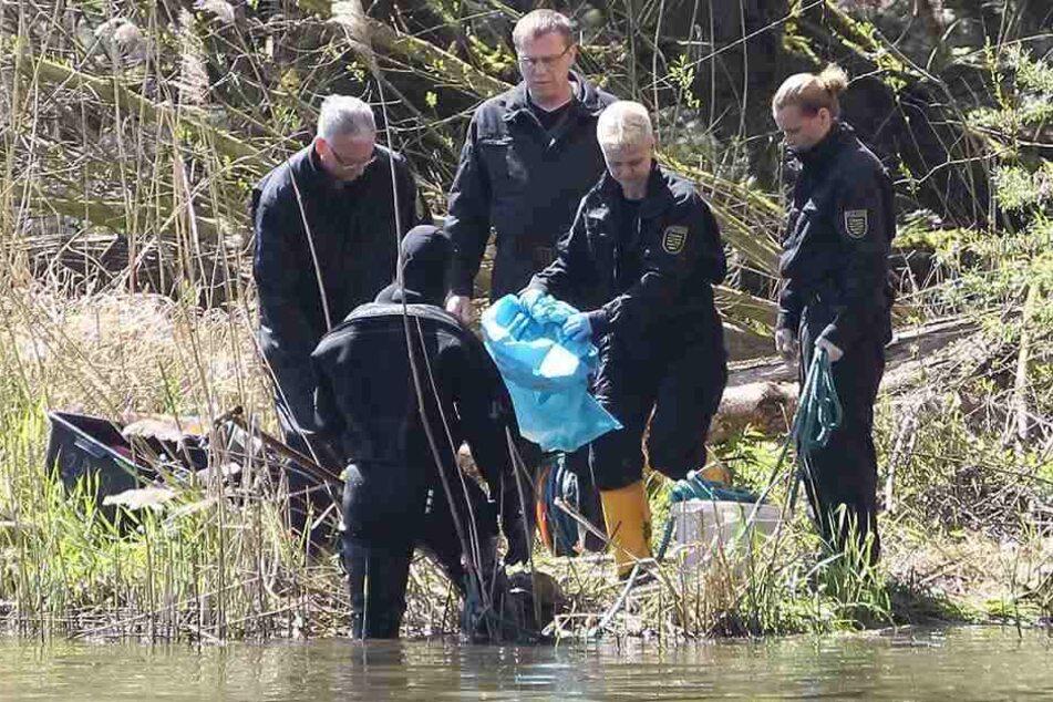 Auch im Elsterbecken wurden damals Leichenteile gefunden.