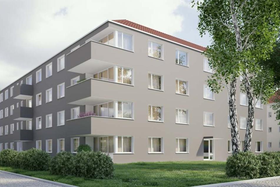 Die Woba will unter anderem an der  Ulmenstraße in Nickern bauen.