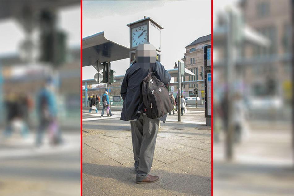 """Busfahrer Michael Lösche (59) möchte nicht erkannt werden, sagt aber klar: """"Die Politik hat die Personalprobleme verursacht."""""""