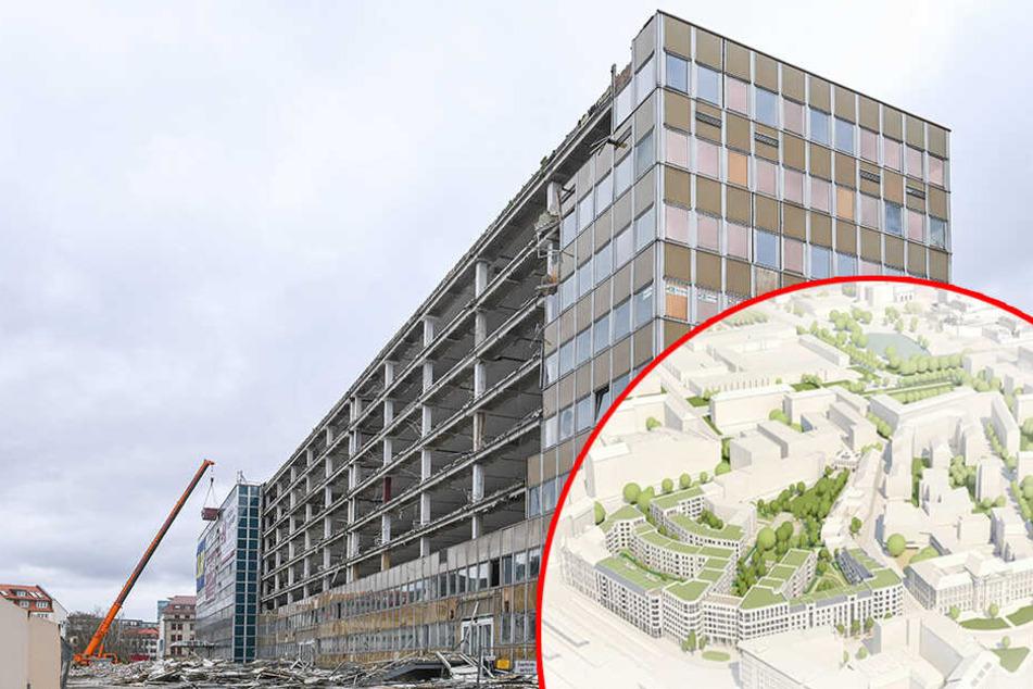 Abriss! Dresdner Platten müssen neuem Stadtteil weichen