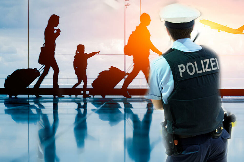 Als die Eltern mit ihren schulschwänzenden Kindern abheben wollten, schritt die Polizei ein.