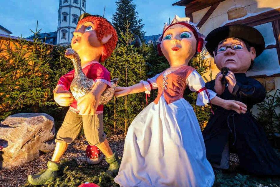 Der Märchenmarkt in Gera wurde überraschend als bester Weihnachtsmarkt im Osten gekürt.