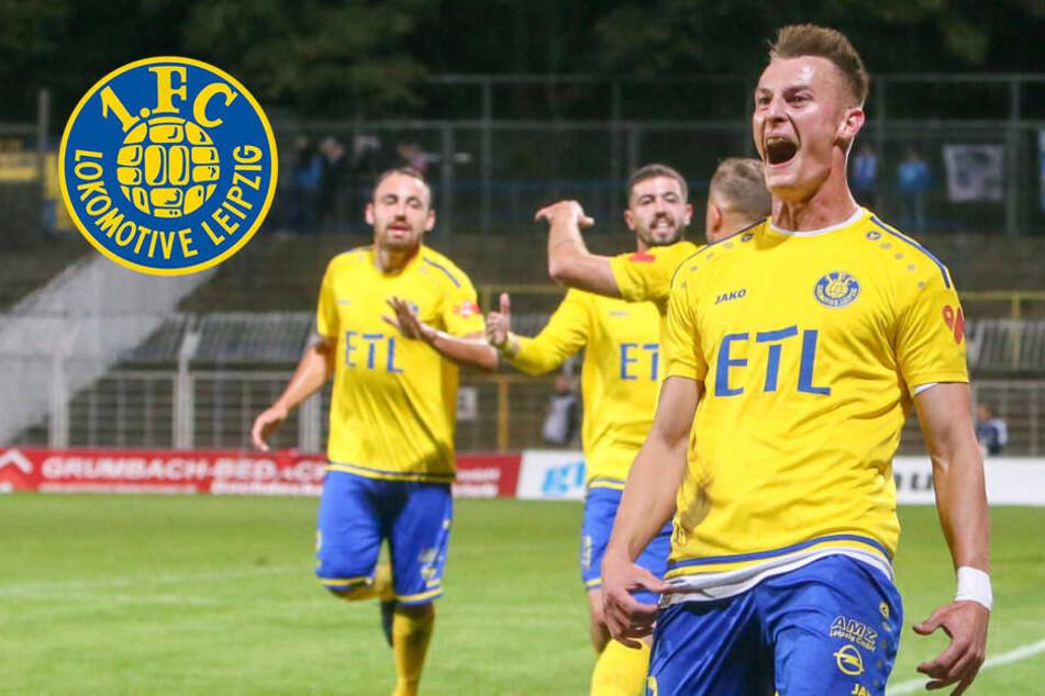 Irrer Fight, 7 Tore, wieder Tabellenführer! Lok Leipzig schlägt Nordhausen