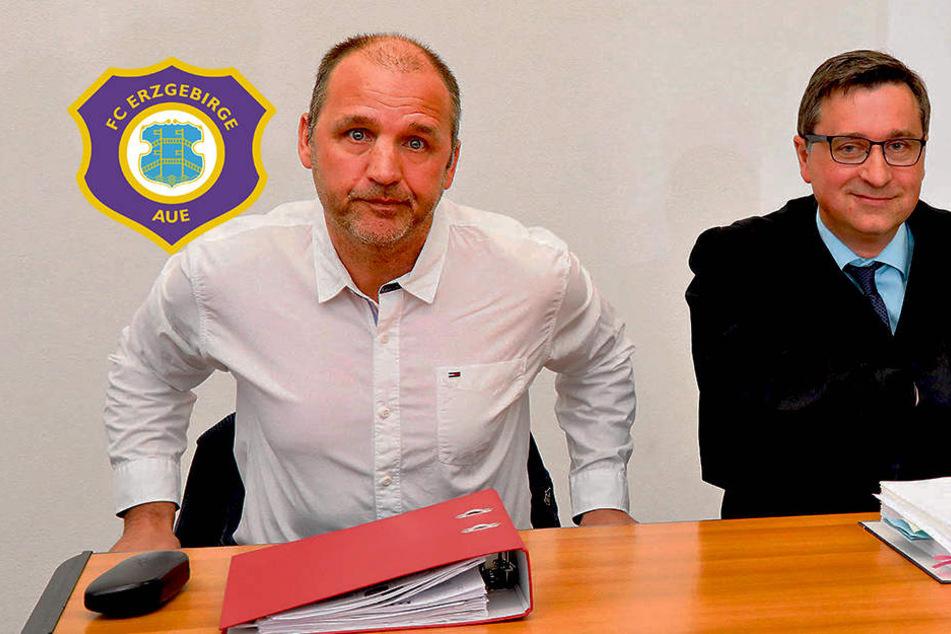 Prozess-Pleite für Aue: Ex-Sportchef Ziffert gewinnt Abfindungspoker