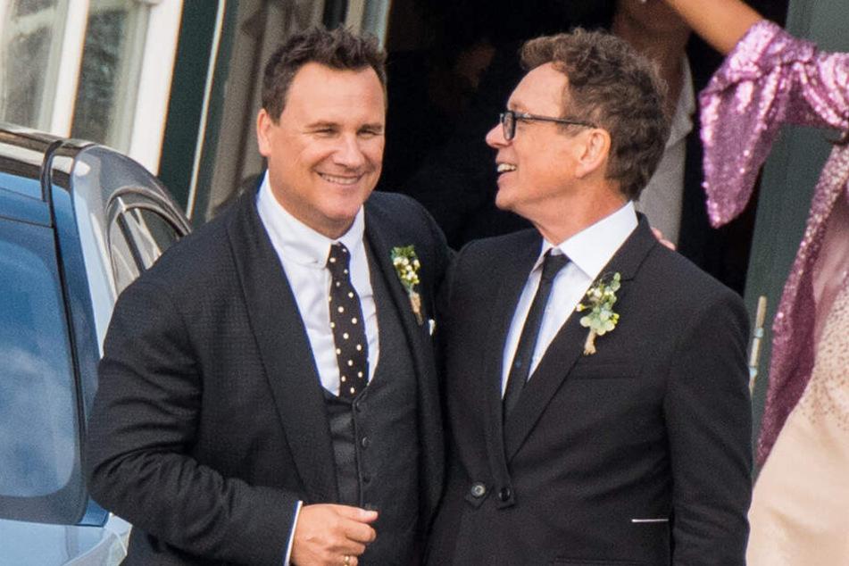 Star-Designer Guido Maria Kretschmer und sein Ehemann Frank Mutters gaben sich im September 2018 das Ja-Wort.