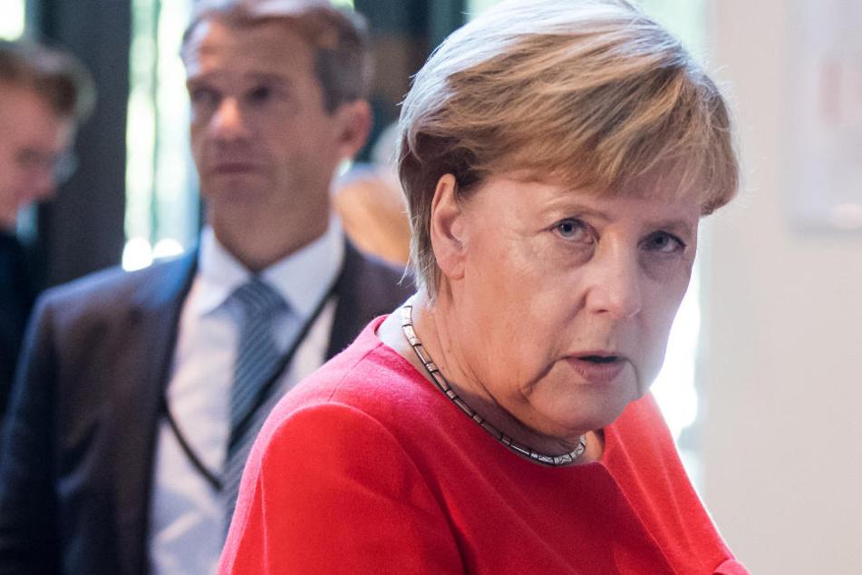 """CDU-Chefin Angela Merkel (64) zur Zusammenarbeit mit der AfD: """"Das kann ich kategorisch ausschließen"""""""