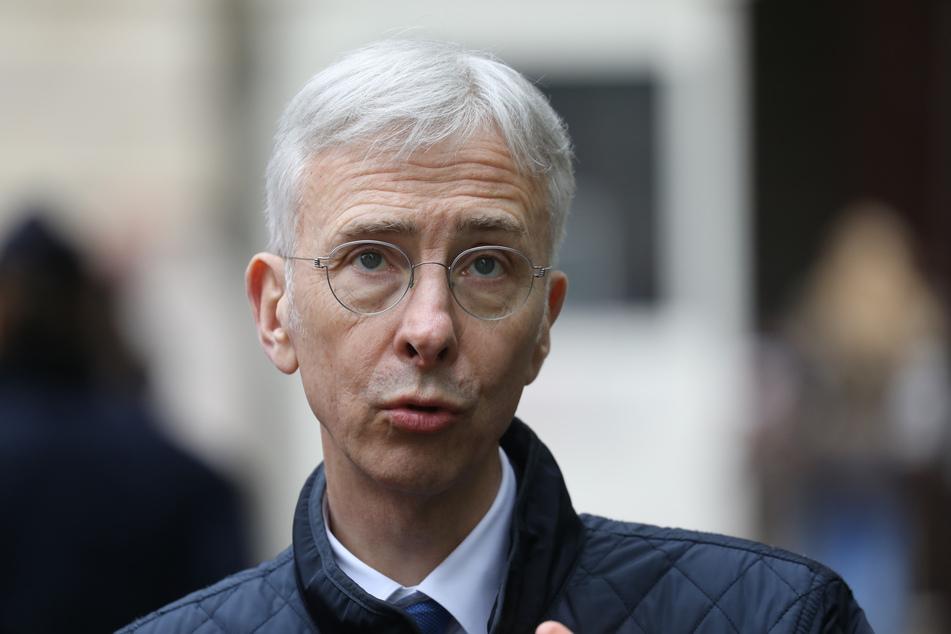 Didier Lallement, Polizeichef von Paris.