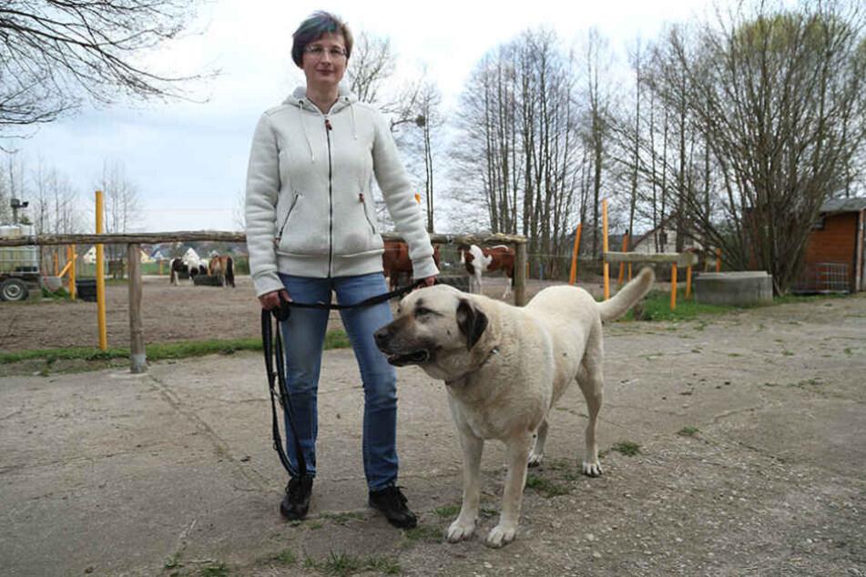 Reitherhof-Chefin Christina Ullmann (44) ist stolz auf ihre tapfere  Linora.