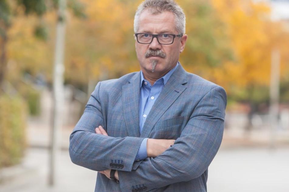 Ordnungsbürgermeister Miko Runkel (56, parteilos) schickt eine mobile Innenstadtwache an die Brennpunkte.