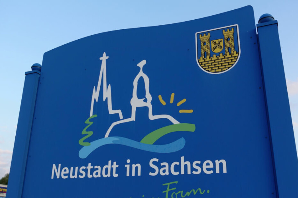In Neustadt in Sachsen kam es zur Evakuierung.
