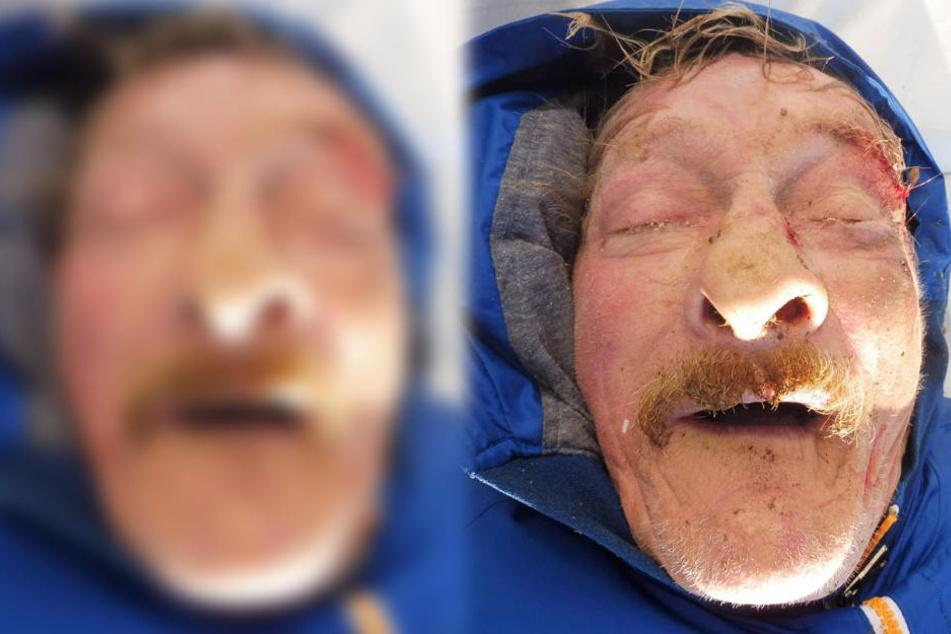 Das Foto zeigt den Verstorbenen. Wer kennt diesen Mann?