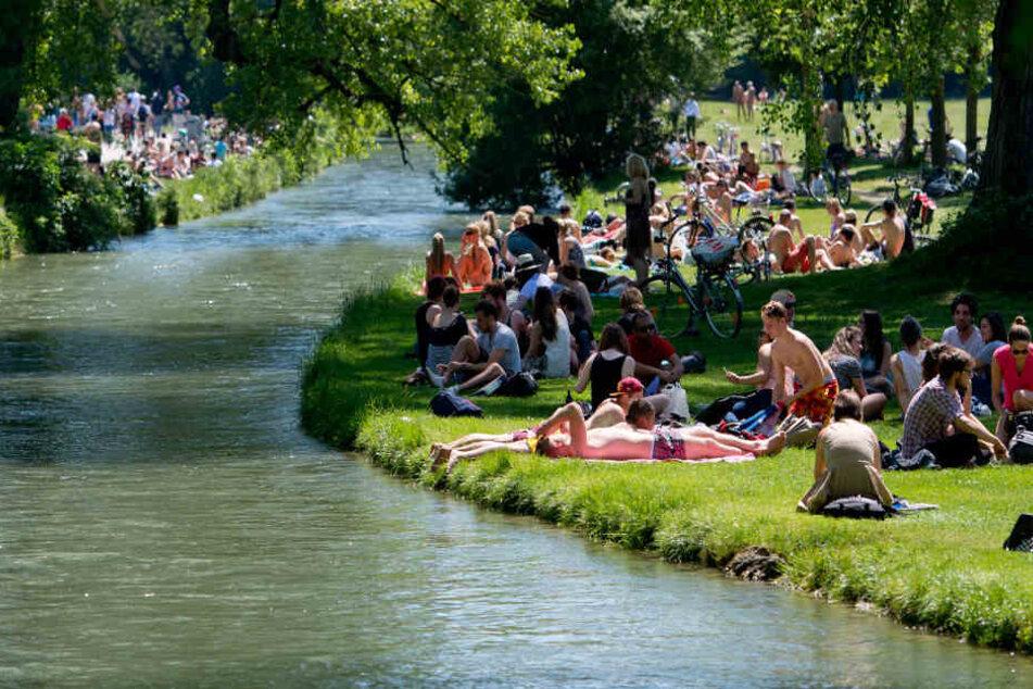 Das Wetter in München zeigt sich am Wochenende von seiner besten Seite. (Symbolbild)