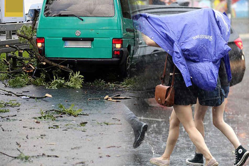 Unwetter-Chaos! Berlin steht wieder unter Wasser