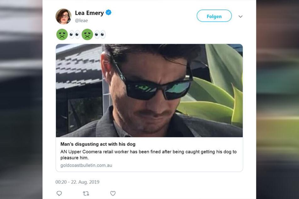 Auf Twitter kursiert ein Foto des Täters (35).