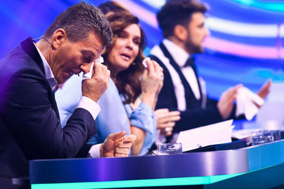 Sarahs tolle Leistung rührte selbst die Jury um Katarina Witt zu Tränen.