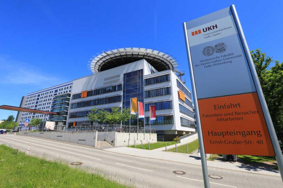 Ein Teilbereich des Universitätsklinikums in Halle-Kröllwitz musste nach einem Quecksilber-Unfall evakuiert werden.