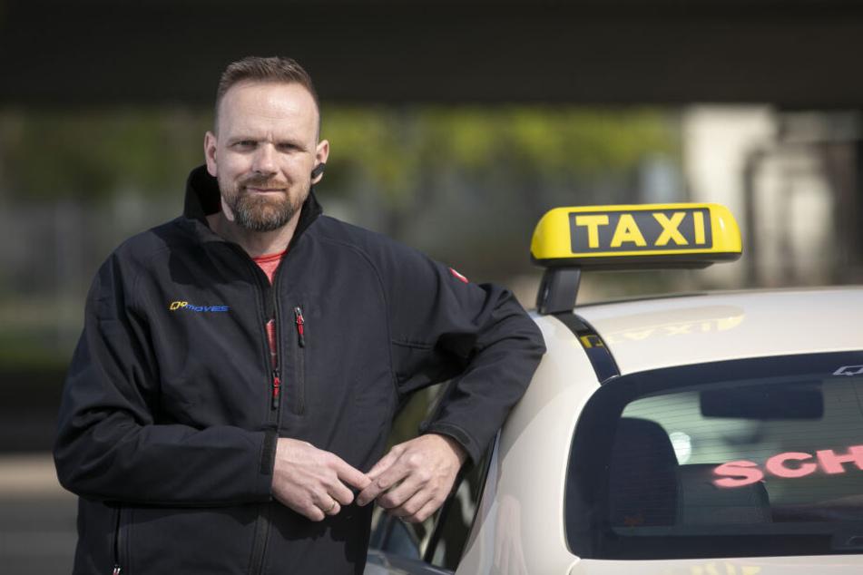 Taxi-Fahrer Alex Noack (42) organisierte das Korso in Dresden.