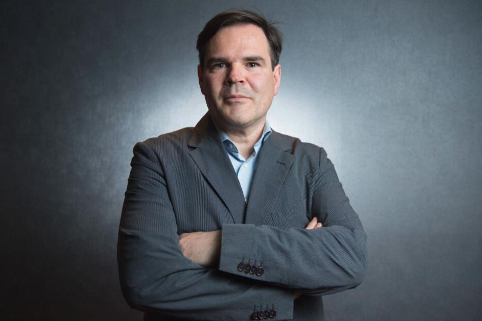 Der Dresdner Autor Uwe Tellkamp (51).