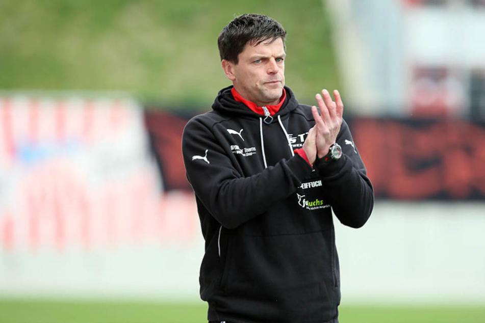 FSV-Trainer Torsten Ziegner kann in dieser Saision mit der Mannschaft noch einen Rekord brechen.