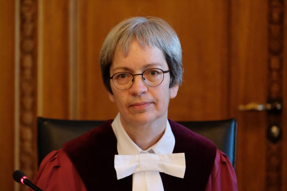 Ulla Held-Daab, die Vorsitzende Richterin am Bundesverwaltungsgericht, verkündete den Urteilsspruch.