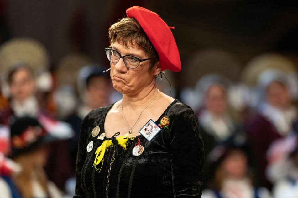 Annegret Kramp-Karrenbauer in Stockach.