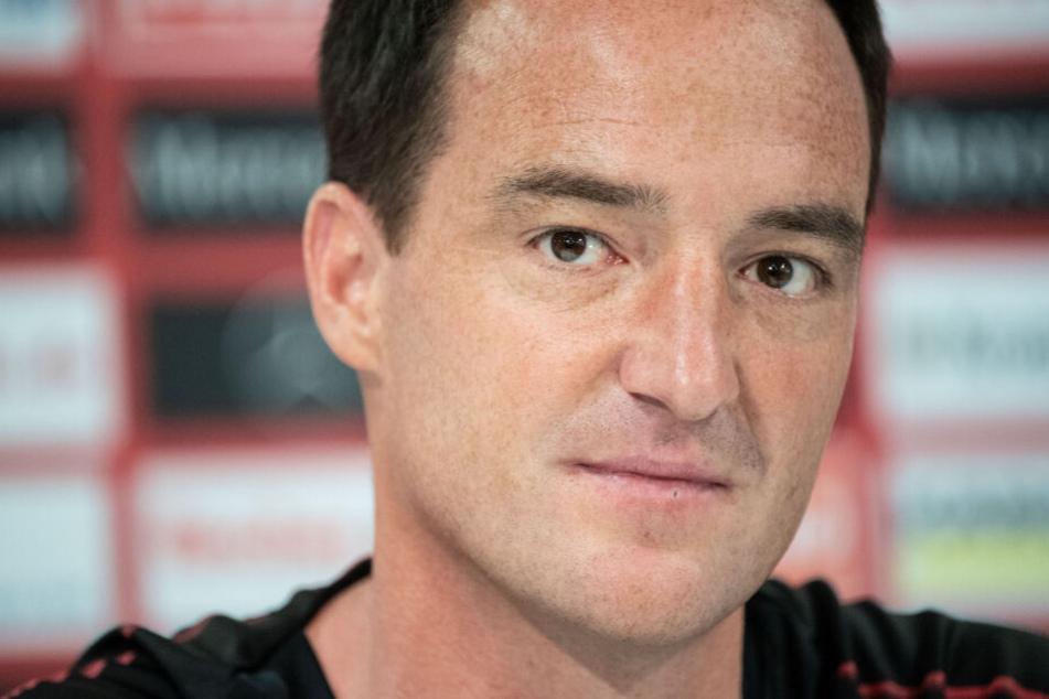 VfB-Interimstrainer: Nico Willig.