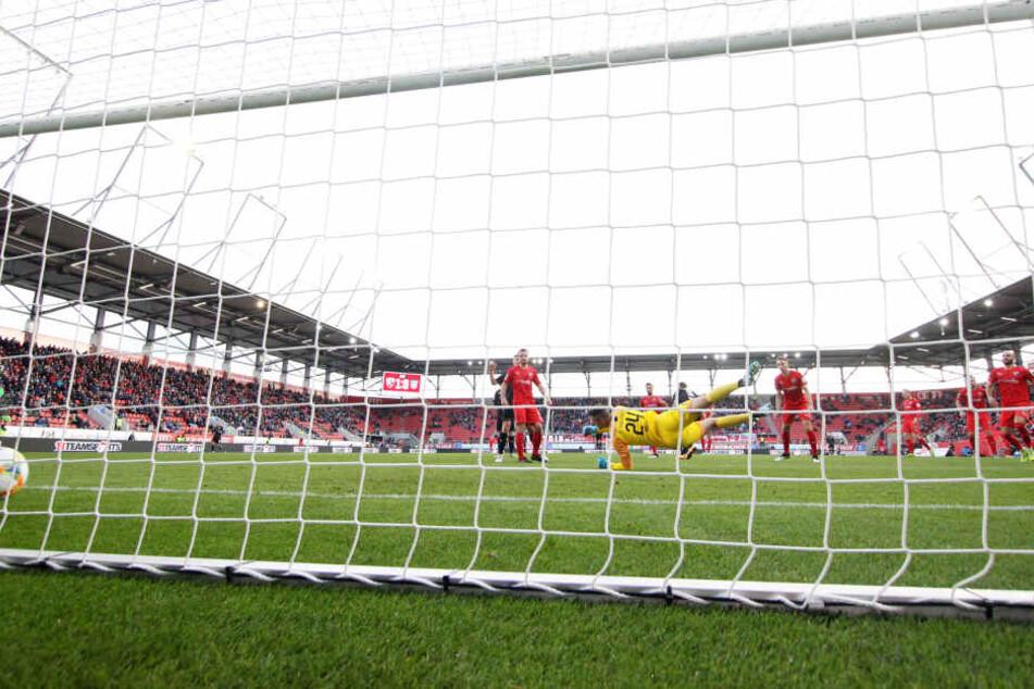 Der Treffer zum 1:1 beim FCI war das 40. Drittliga-Tor für FSV-Kicker Ronny König.