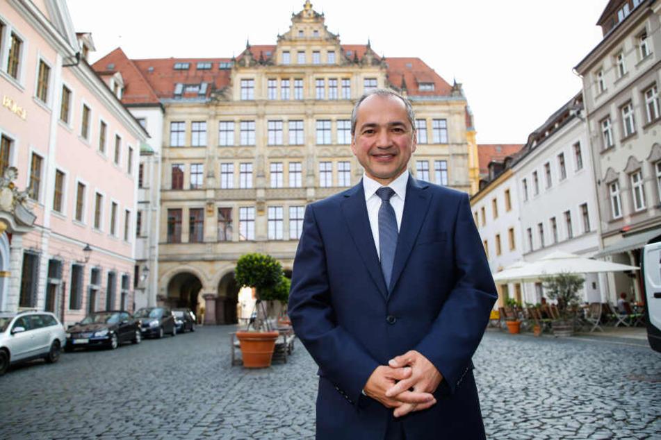Der CDU-Kandidat Octavian Ursu (51) liegt auf Platz zwei bei der Oberbürgermeisterwahl in Görlitz.