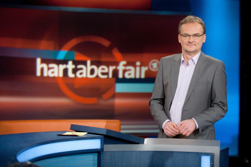 Frank Plasberg moderierte die Sendung. Sprach am Anfang von Hart aber Fair davon, wie der Zuschauer sich nicht beruhigen wollte und hinausbegleitet wurde.