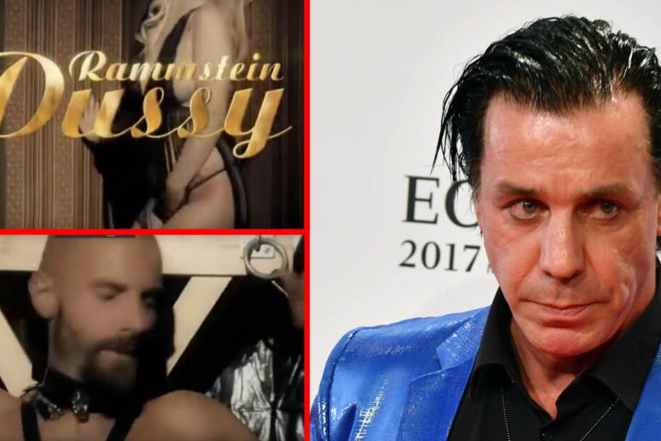 """Das Video zum Rammstein Song """"Pussy"""" war anscheinend zu viel für die Weißrussischen Behörden. (Bildcollage)"""