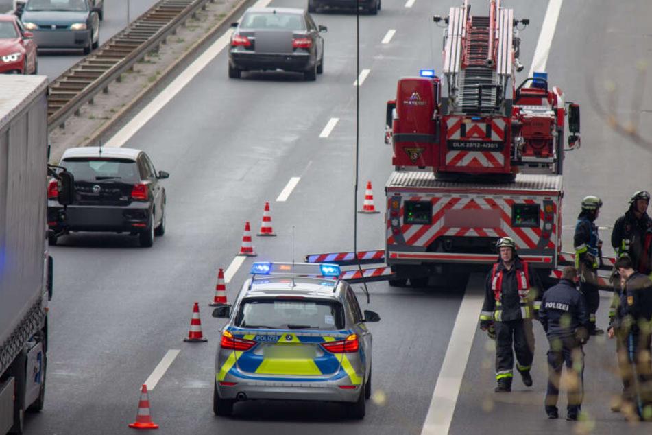Südwesttangente Nürnberg: Hängendes Kabel führt zu Verkehrsproblemen
