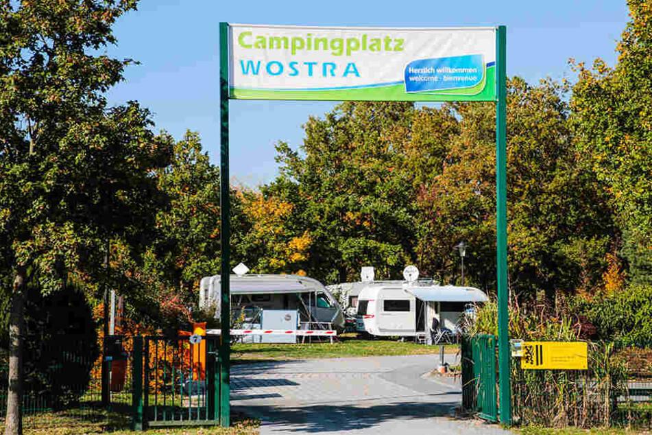 Der Campingplatz Wostra vermeldete einen Gästerekord.