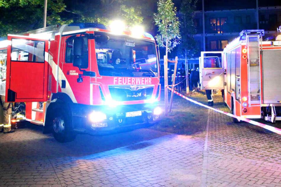 Die Feuerwehr brachte die Bewohner in Sicherheit.