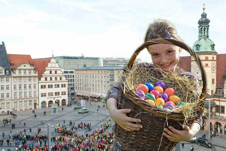 Auf dem Leipzig Marktplatz wird ab dem 12. April die alljährliche Historische Ostermesse stattfinden.