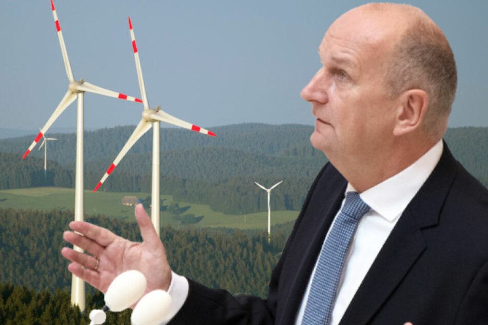 Brandenburgs Ministerpräsident Dietmar Woidke (56, SPD) berät mit seinem Kabinett über ein Maßnahmenpaket. (Bildmontage)