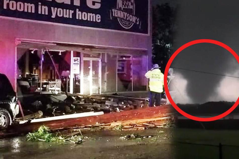 Nach einem heftigen Tornado kamen drei Menschen ums Leben.