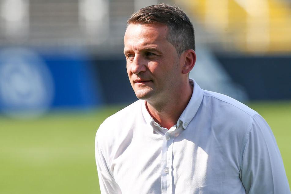 Thomas Sobotzik trat im September als Sportdirektor des Chemnitzer FC zurück - und mit ihm damals Trainer David Bergner.