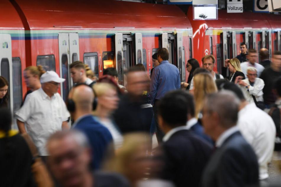 Mann auf den Gleisen! S-Bahn muss an der Hauptwache notbremsen