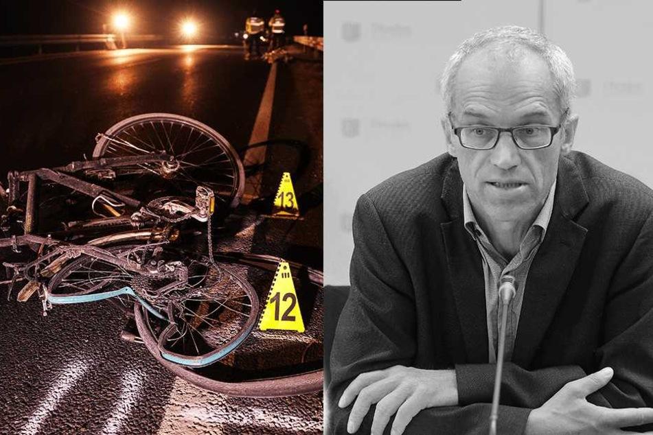 Dresdner Schulamtsleiter stirbt bei Rad-Unfall