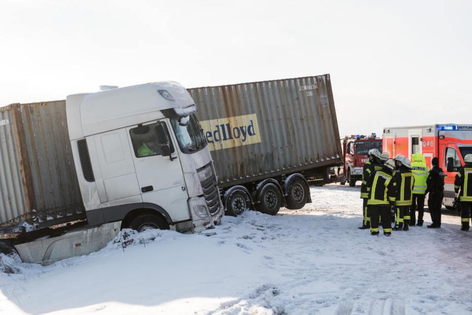 Auf der Autobahn 24 kam es am Nachmittag zu einem Massen-Crash.
